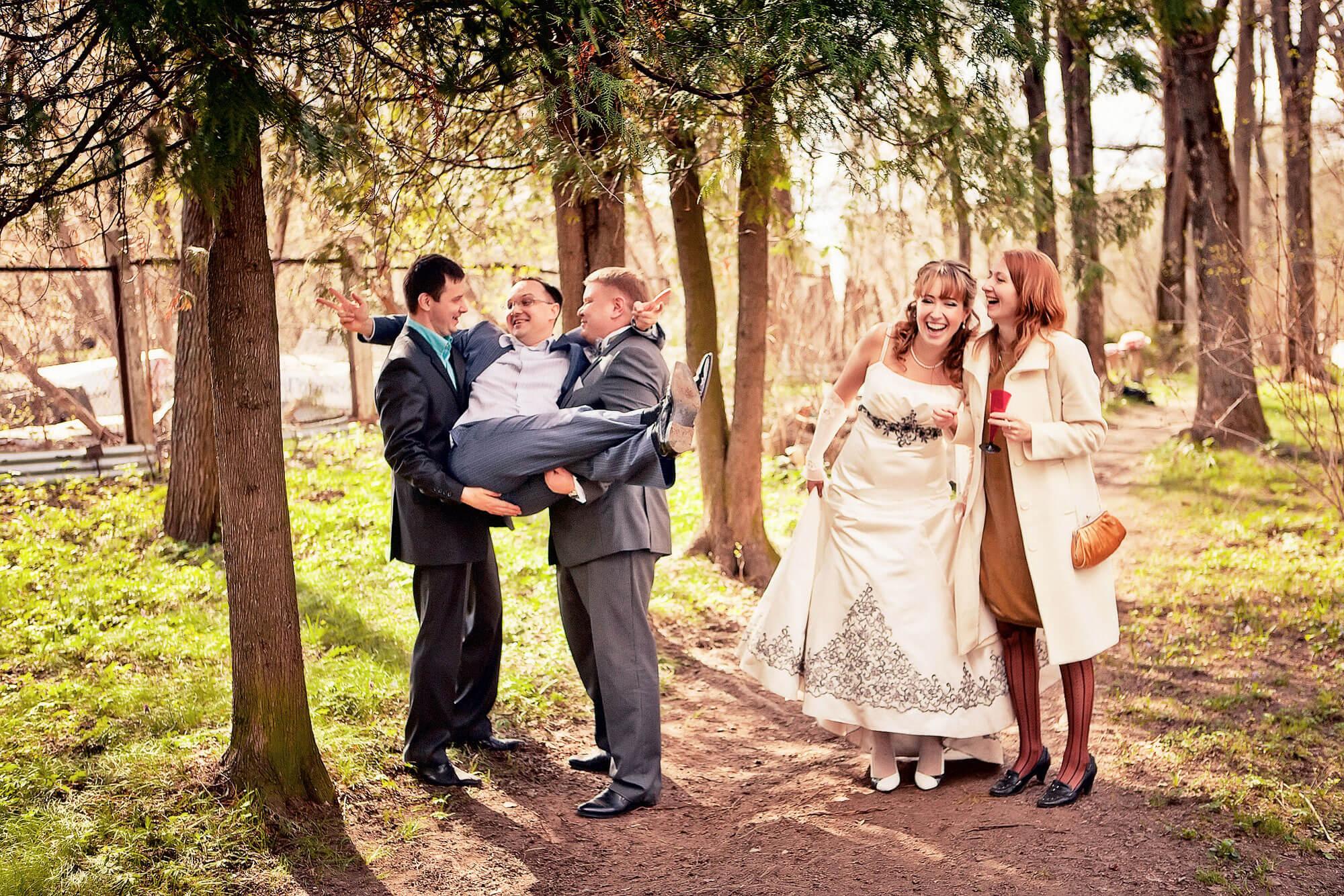 Свидетель засадил в невесту 12 фотография