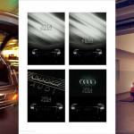 Фотосессия для автокалендаря Ауди девушки и автомобиль календарь Москва фотограф Роман Какоткин реклама
