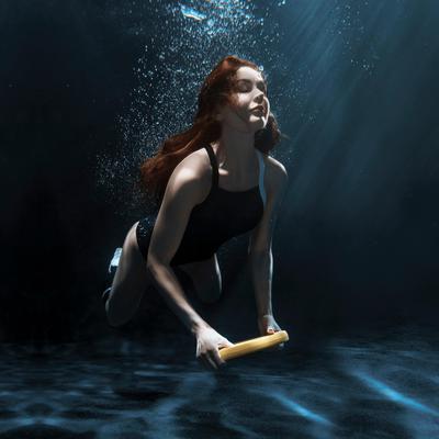 Фотосессия в воде и под водой