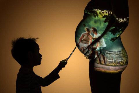 Фотосессия для беременных девушек в Твери.